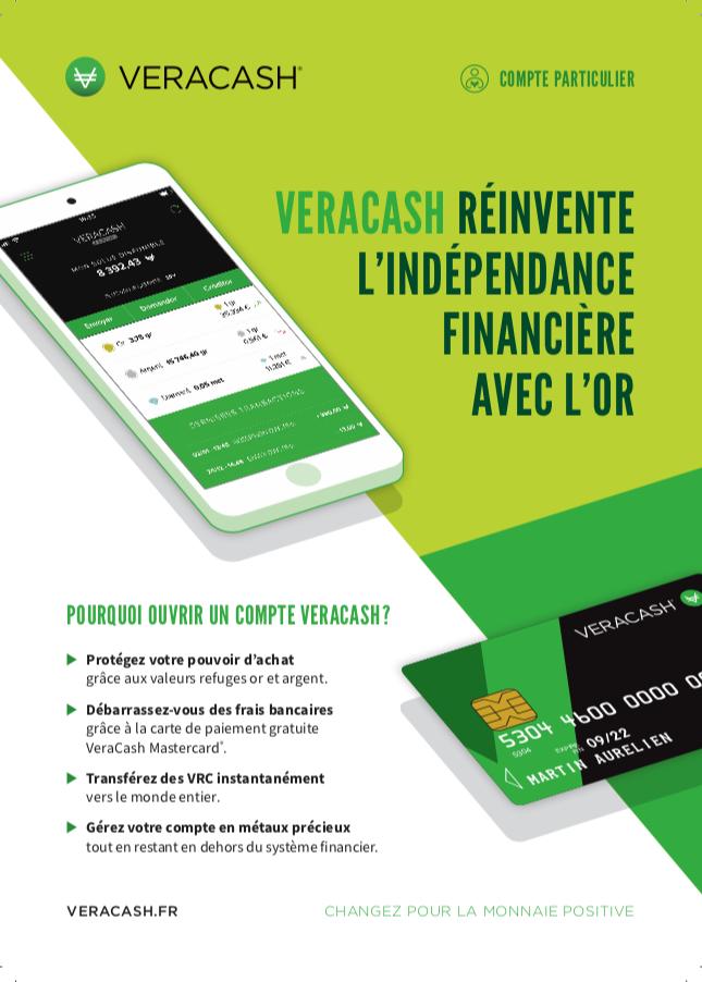 Flyer comptes particuliers VeraCash