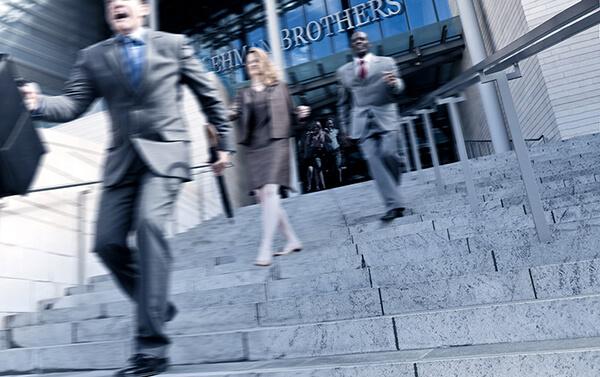 Lehman Brothers 2008 : panique des employés