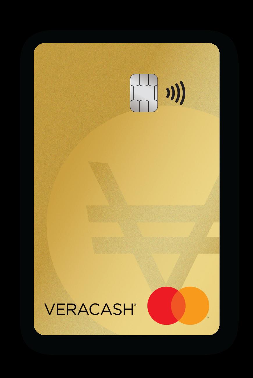 nouvelles cartes de débit VeraCash