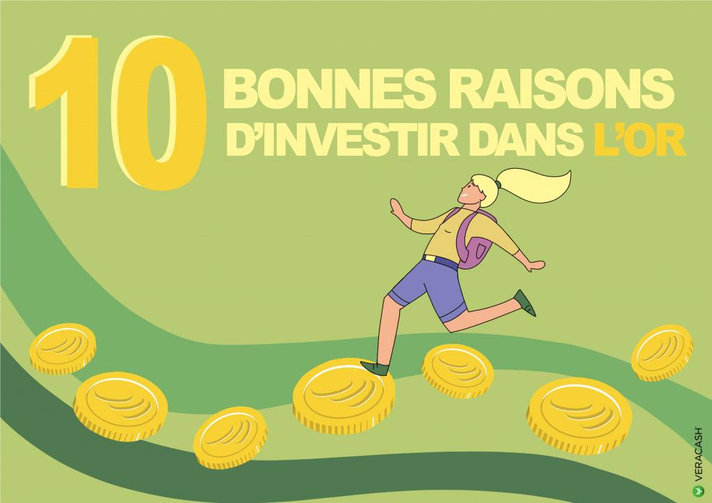 10 bonnes raisons d'investir dans l'or