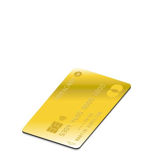 Carte de paiement VeraCash