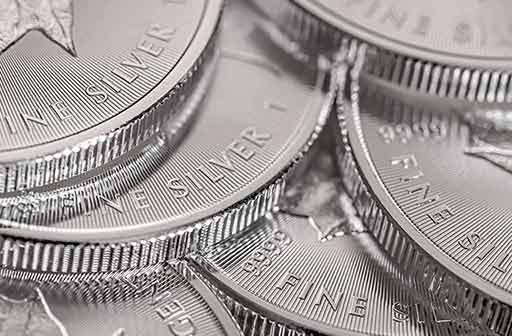 Evolution du cours de l'argent métal depuis 20 ans